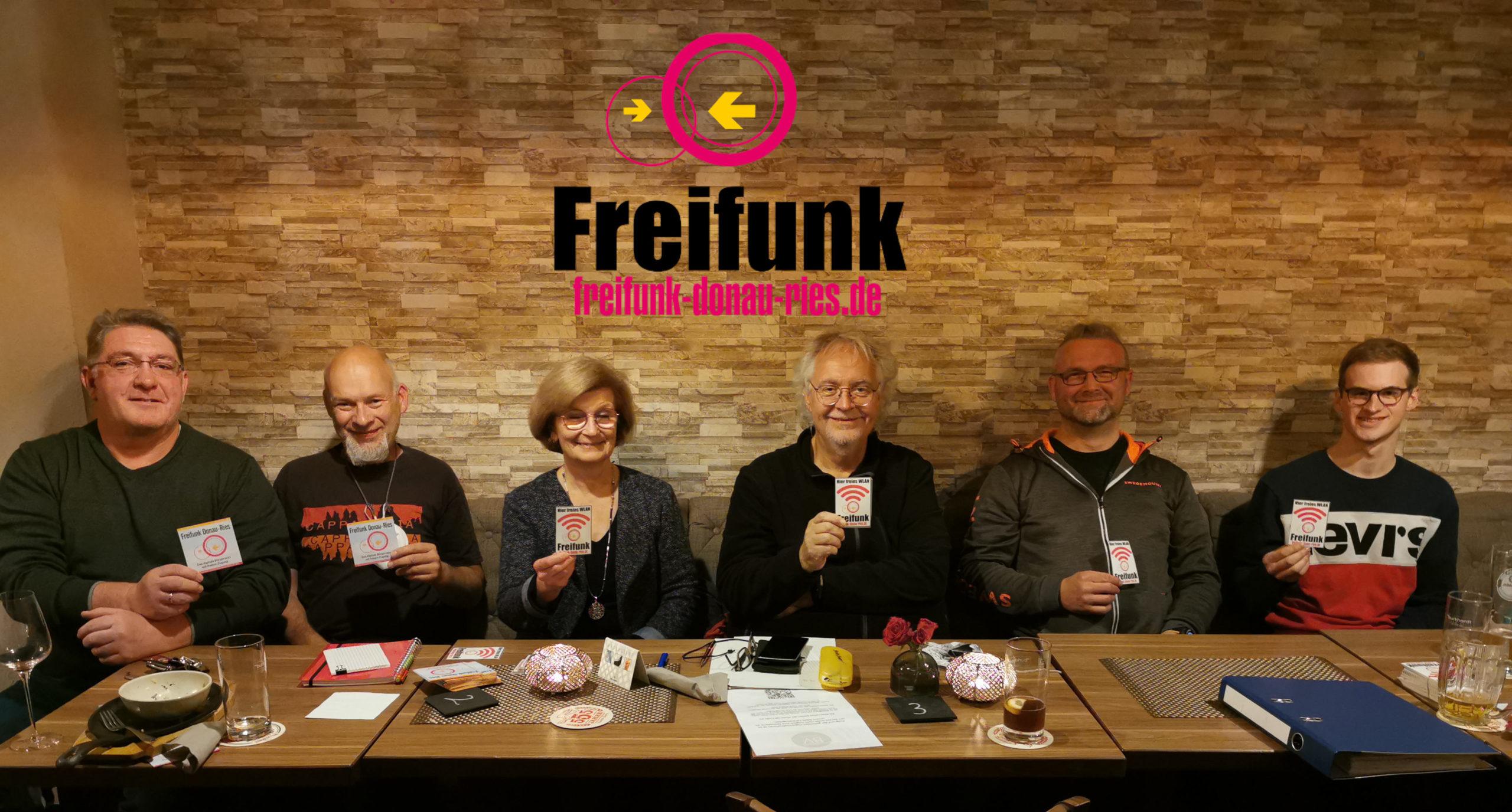 Der neue Vorstand Freifunk Donau-Ries